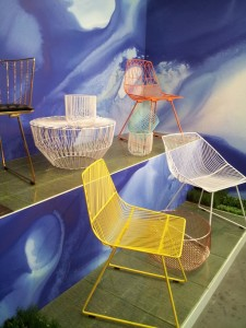 wire - mesh chairs & tables