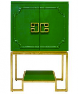 Green - asian side table