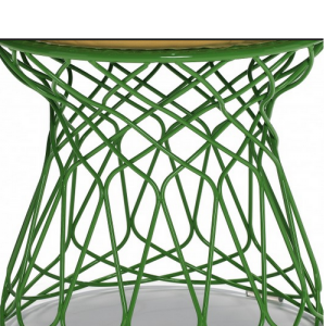 Green - wire table base