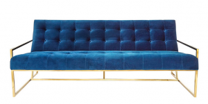 2016 Trends - rich interiors - blue couch
