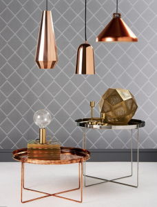 Trends - copper lighting