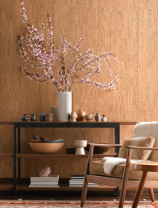 Trends - cork wallpaper