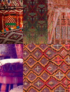 Trends - global patterns colours
