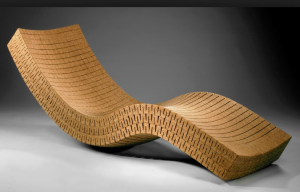 trends - cork chaise