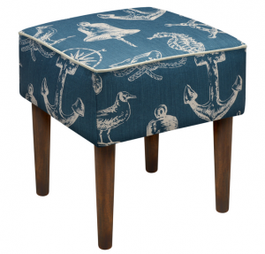 Beach nautical stool