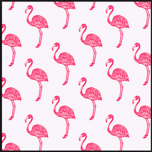 Facebook - flamingo wall paper