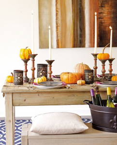 thanksgiving-console-decor