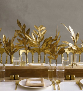 thanksgiving-gold-leaf-centrepiece
