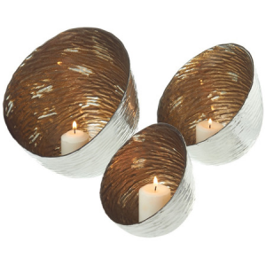 xmas-gold-silver-pod-candle-holders